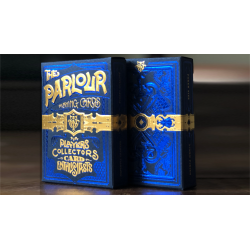 The Parlour Playing Cards (Blue) wwww.jeux2cartes.fr