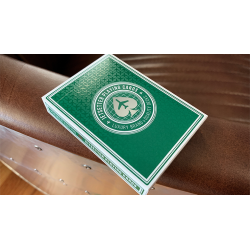 Premier Edition in Jetsetter Green by Jetsetter Playing Cards wwww.jeux2cartes.fr