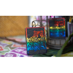 The Hidden King Rainbow Luxury Edition Playing Cards by BOMBMAGIC wwww.jeux2cartes.fr