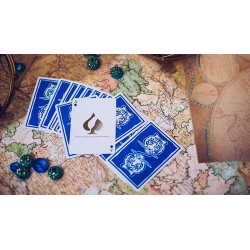 The Hidden King Blue Luxury Edition Playing Cards by BOMBMAGIC wwww.jeux2cartes.fr
