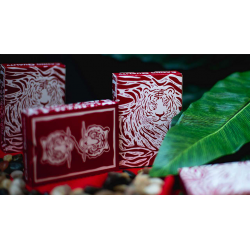 The Hidden King Red Luxury Edition Playing Cards by BOMBMAGIC wwww.jeux2cartes.fr