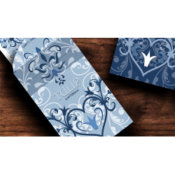 Tulip Playing Cards (Light Blue) by Dutch Card House Company wwww.jeux2cartes.fr
