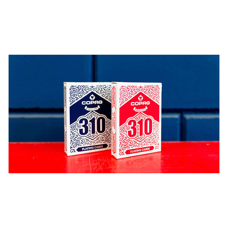 Jeu de cartes COPAG 310 SlimLine (Bleu) wwww.jeux2cartes.fr