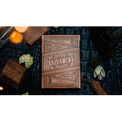 Invocation Copper Playing Cards by Kings Wild Project wwww.jeux2cartes.fr