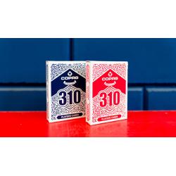 Jeu de cartes COPAG 310 SlimLine (Rouge) wwww.jeux2cartes.fr
