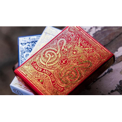 Blood Red Edition Playing Cards by Joker and the Thief wwww.jeux2cartes.fr