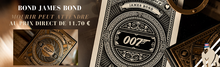 JEU DE CARTES JAMES BOND 007
